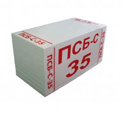 Пенопласт ПСБ-С-35.