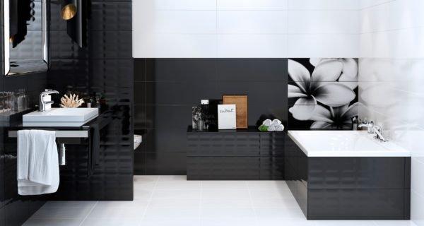 Плитка в ванную с фотопечатью – отличная альтернатива окрашенным стенам