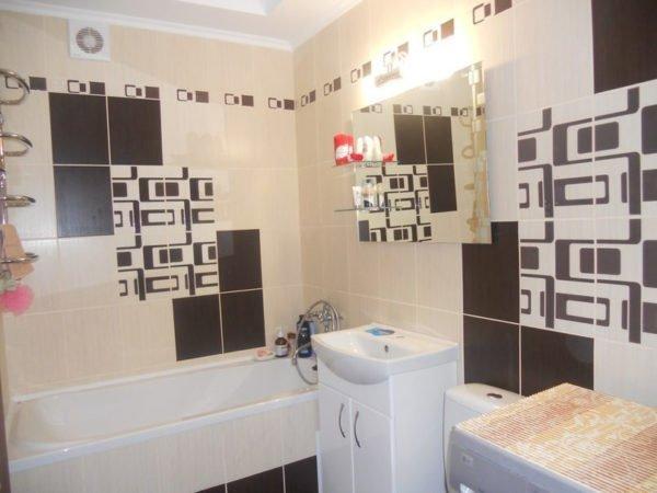 Плитка Вельвет в интерьере ванной используется все чаще
