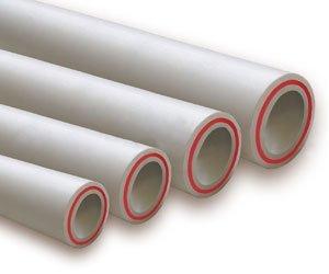 Полипропиленовые трубы со стекловолокном разных диаметров