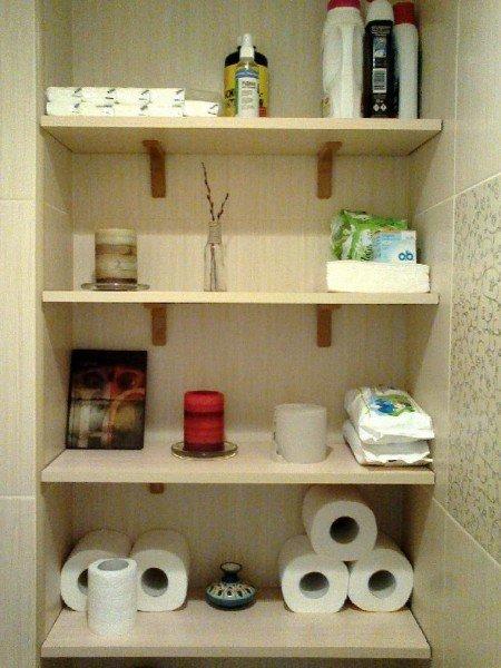 Полки для туалета