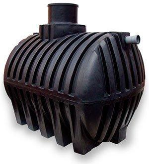 Полностью герметичная емкость для оборудования выгребной ямы.
