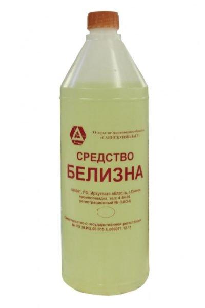 Помойте поверхности после насекомых белизной