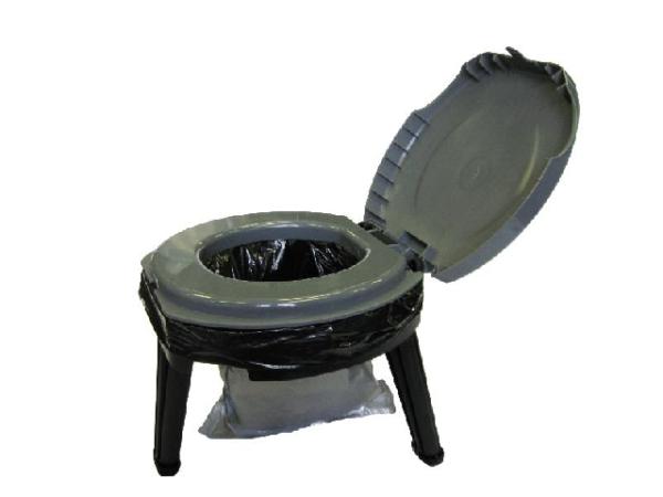 Портативная модель туалета.