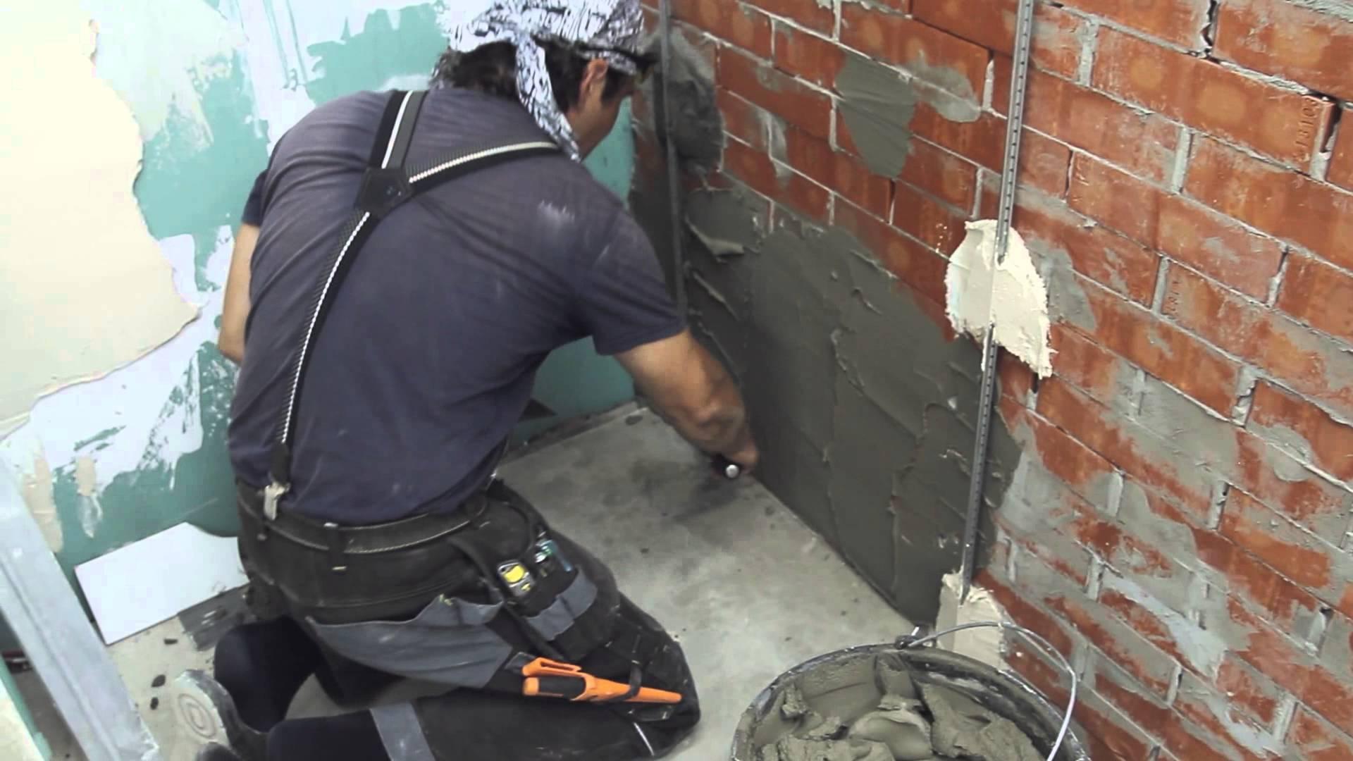 Как сделать раствор для штукатурки стен - состав и пропорции