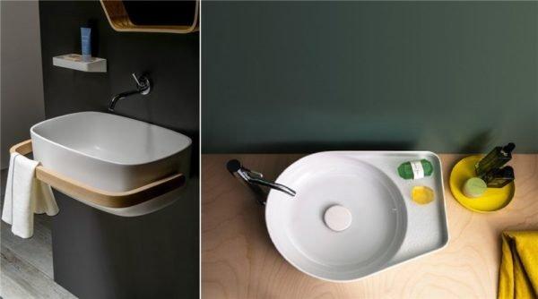 Раковина, ванна, биде и унитаз должны иметь округлую, плавную форму