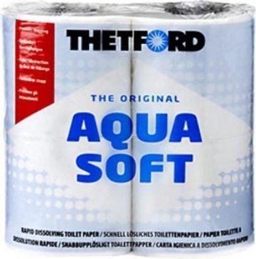 Растворяемая туалетная бумага Aqua-Soft.