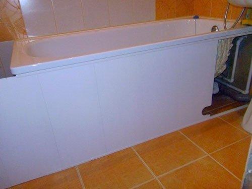 Экраны на ванну раздвижные своими руками