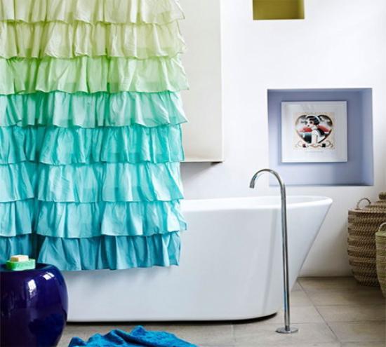 Самостоятельно вы сможете сделать невероятно оригинальный дизайн шторки