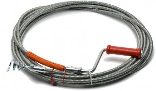 Сантехнический тросик - еще один недорогой и очень полезный инструмент.
