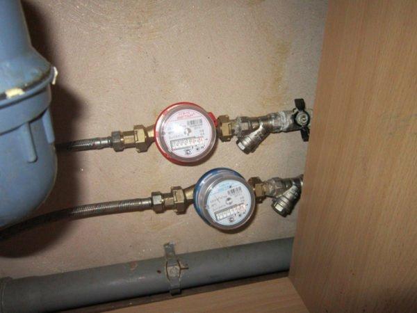 Сборки с фильтрами и водосчетчиками.