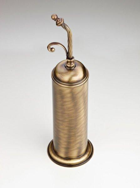 Щетка для унитаза стилизованная под бронзу