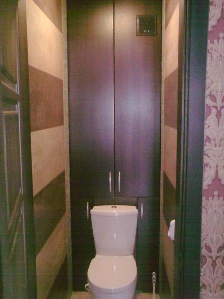 Шкафчик в туалете сделать
