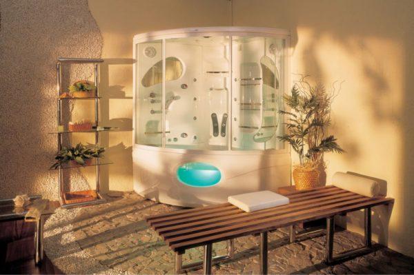 Симбиоз ванны и душевой кабины