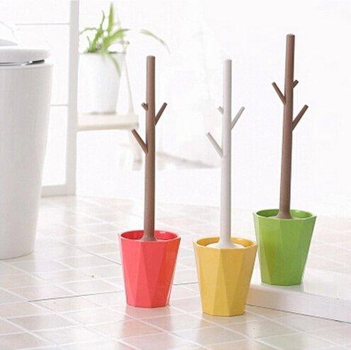 Симпатичные деревья с веточками препятствуют выскальзыванию из рук во время использования
