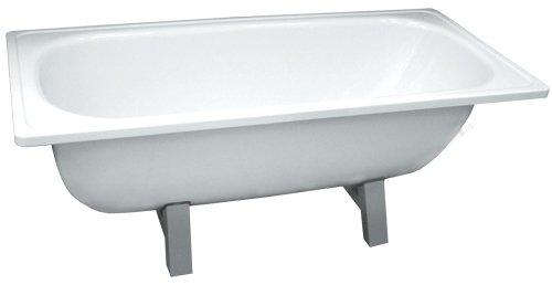Стальная ванна – еще одна альтернатива акрилу.