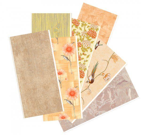 Стеновые панели отличаются большим разнообразием цветов, оттенков и узоров.