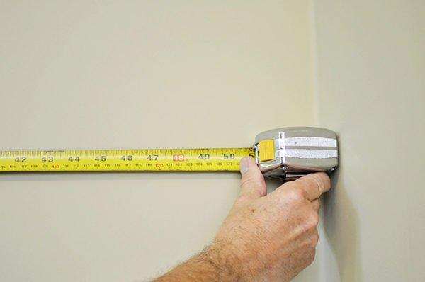 Точные измерения помогут закупить точное количество плитки.