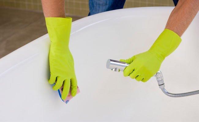 Чистка ванн в домашних условиях 477