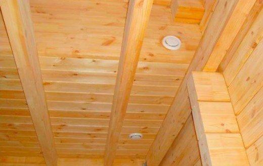 Вентиляция в деревянном доме фото