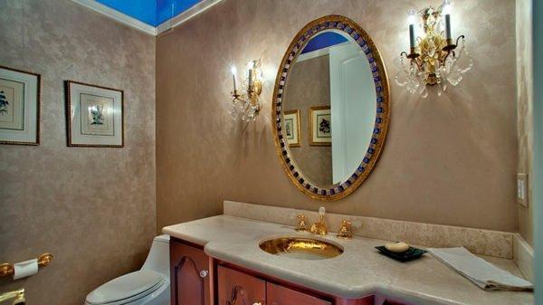 Венецианская штукатурка идеальна для создания классических интерьеров.