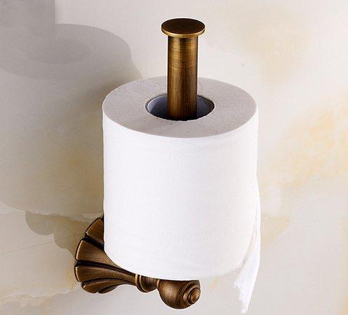 Вертикальный держатель гигиенической бумаги сочетает простоту и изящность