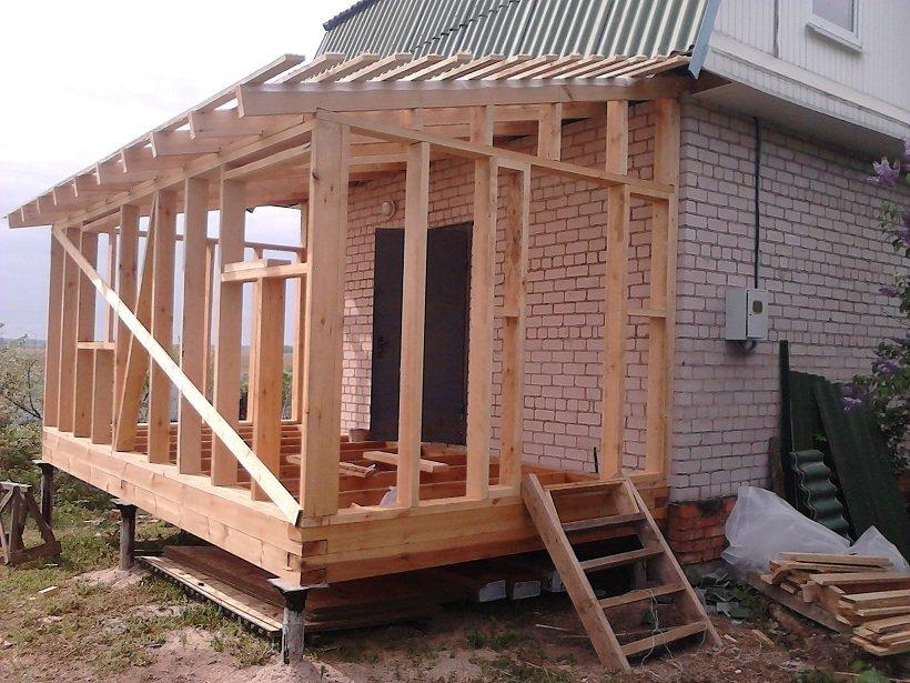 Строительство пристройка к дому своими руками