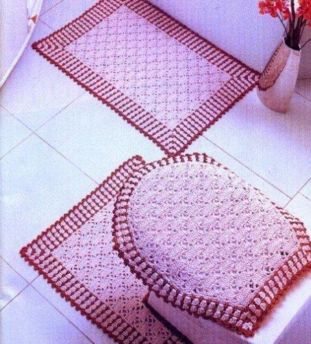 Схемы ковриков в ванну