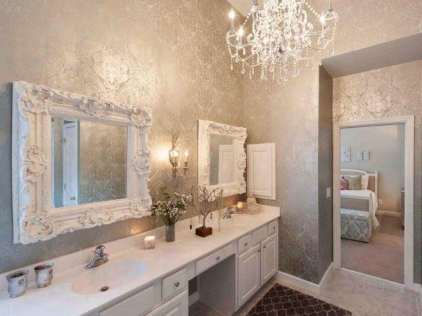 Зеркало должно соответствовать выбранному стилю интерьера