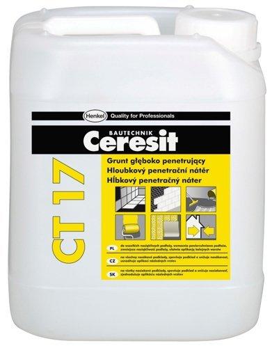 Акриловая грунтовка глубокого проникновения от компании Ceresit.