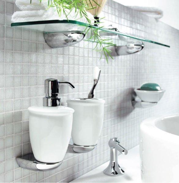 Аксессуары для ванной играют большую роль в дизайне интерьера