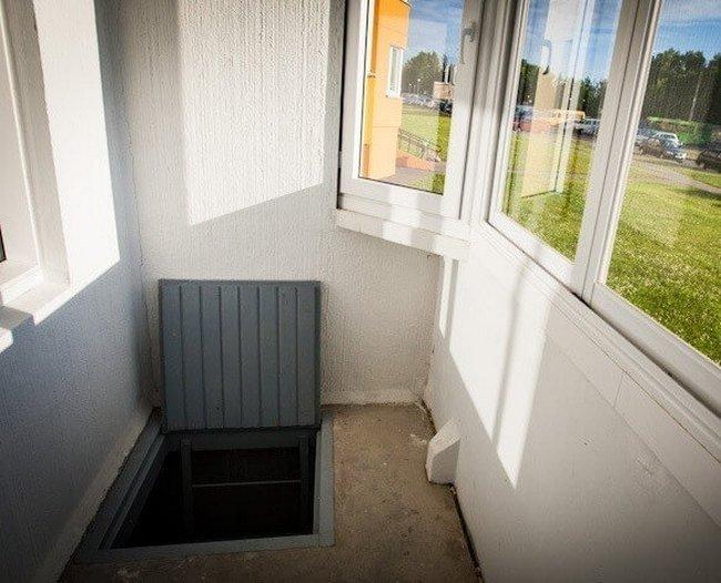 Погреб на балконе своими руками: четыре способа обустройства.
