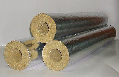 Базальтовая теплоизоляция намного удобнее и хорошо предохраняет трубы от замерзания.