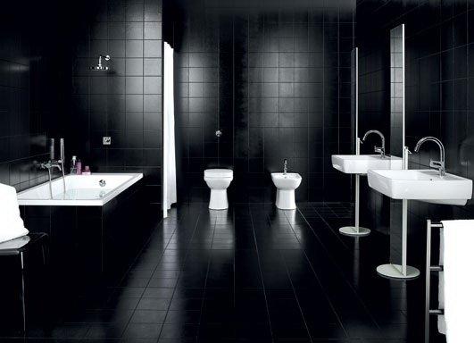 Черный – мрачный вариант на любителя.