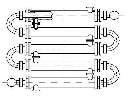 Расчёт теплообменника водяного труба в трубе чертеж бесплатно теплообменник с плавающей головкой