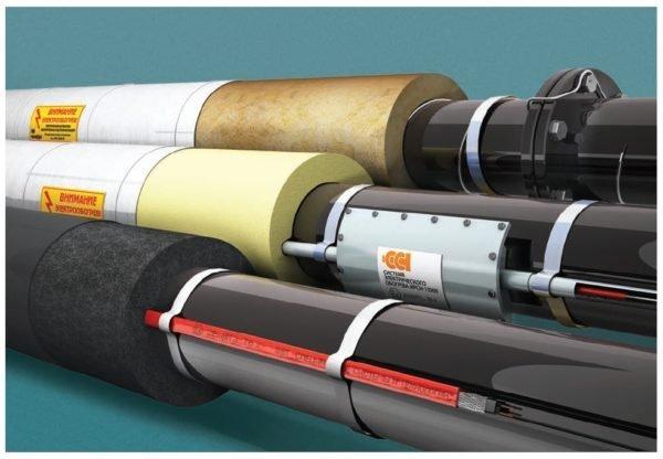 Для активного обогрева используются различные термокабели и муфты