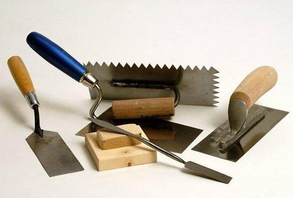 Для работы необходимо подготовить различные инструменты.