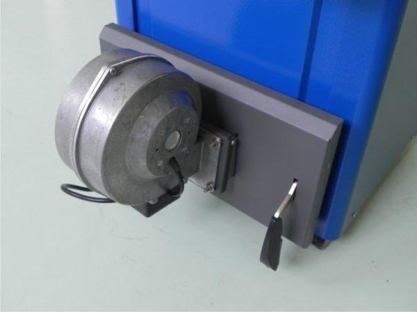 Электрическая турбина для создания принудительной тяги в котле.