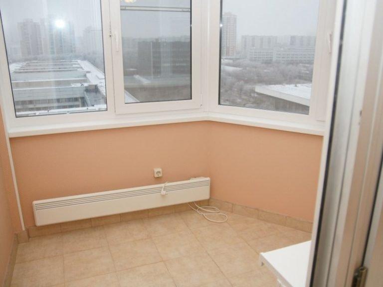 Отопление на балконе своими руками (фото).