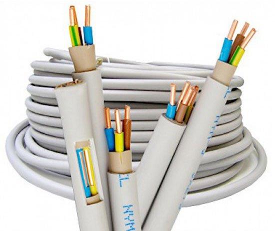 Электромонтажный кабель марки NYM.