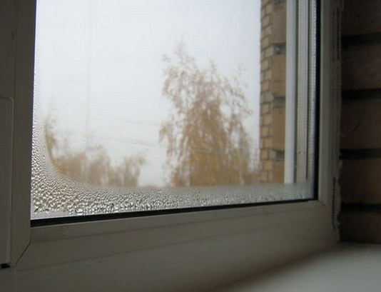 Если вода собирается в промежутке между стеклами, значит, кто-то схалтурил