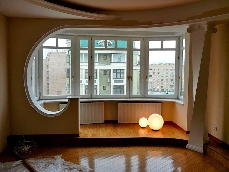 Как оформить балкон объединенный с комнатой фото..
