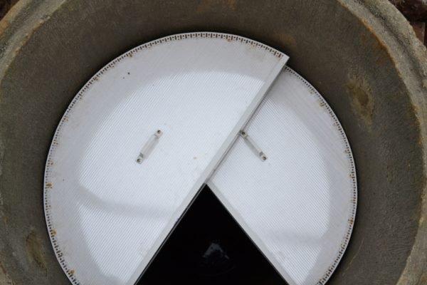 Фото разборной двухсекционной крышки