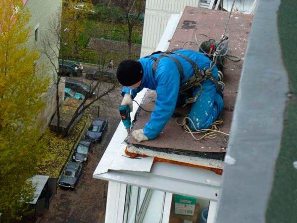 Герметизация и утепление балкона