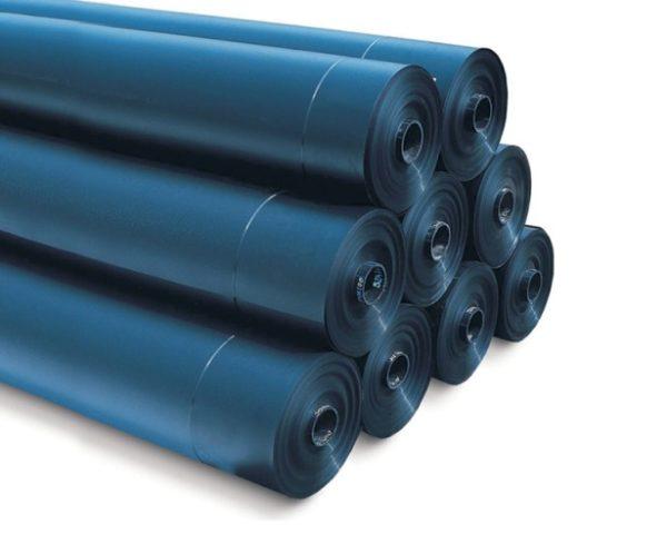Гидроизоляционная пленка для защиты теплоизоляции от атмосферной влаги.