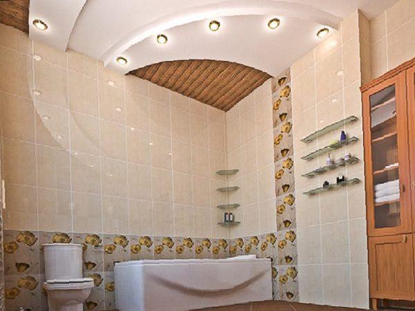 Гипсокартон дает возможность реализовать даже самые смелые идеи по оформлению потолка.