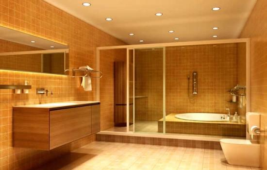 Гипсокартон в ванной позволяет создавать поистине уникальные интерьеры.