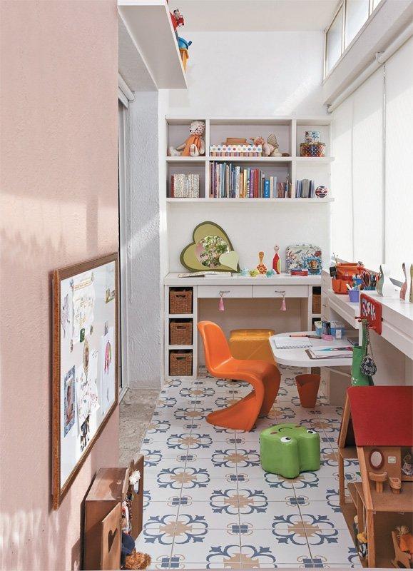 Детские комната балкон дизайн