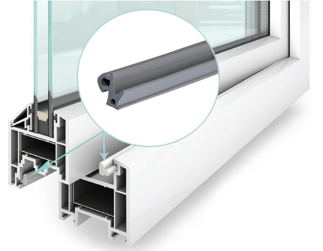 Резинки для пластиковых окон вида материалов com Именно здесь плотный прижим важнее всего