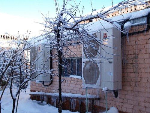Инвертор способен греть воздух в доме при -25 на улице.